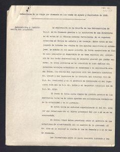 Estudio de estaciones de clasificación de Alemania (1922).